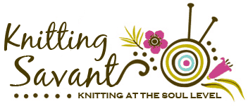 KNITTING SAVANT LOGO DESIGN brighter pink copy